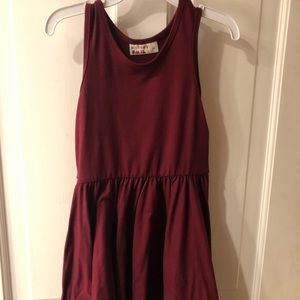 Dot Dot Smile size 3/4 Tank Dress, EUC
